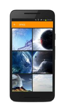Amazing wallpapers apk screenshot