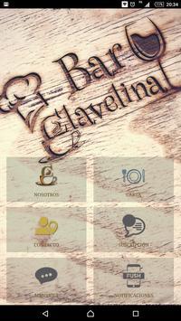 Clavelina Bar poster