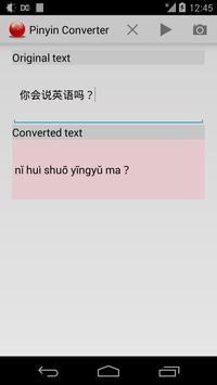 Pinyin Converter poster