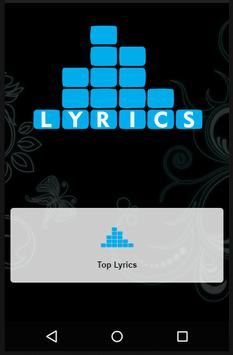 Rudimental Top Lyrics poster