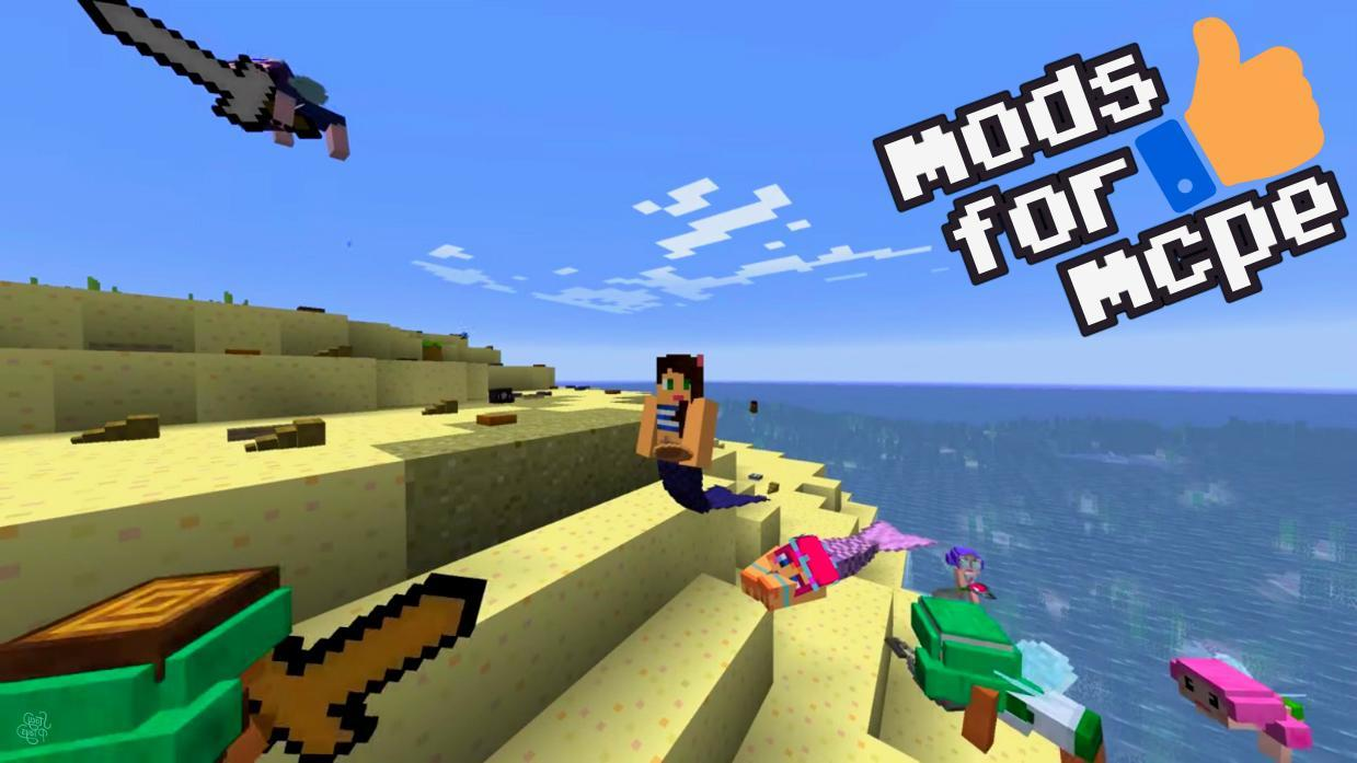 Mermaid Tail Mods For Minecraft Pocket Edition For Android Apk Download