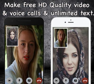 Free video call texing text now tips screenshot 2