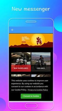 Fast Messenger Text and Video+ MMS screenshot 1