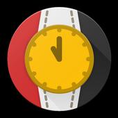 حداشر   ساعة بالمصري icon