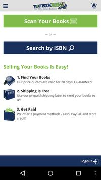 TextbookRush – Sell books poster