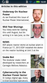 Nuclear Power Int. Magazine apk screenshot