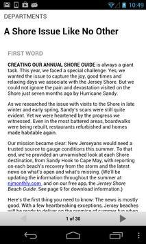 New Jersey Monthly Magazine apk screenshot