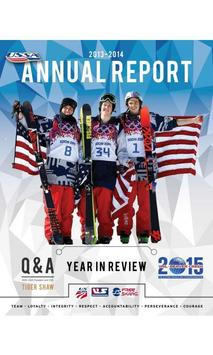 USSA Annual Report poster