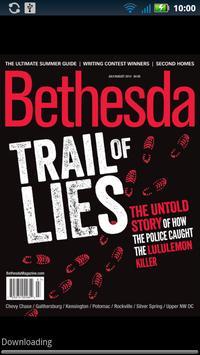 Bethesda Magazine poster