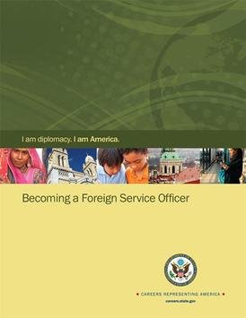 DOS Foreign Service Careers poster