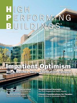 High Performing Buildings poster