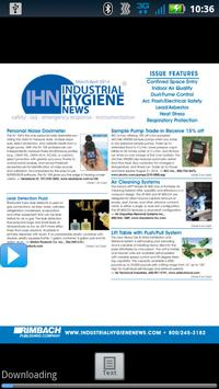 Industrial Hygiene News poster