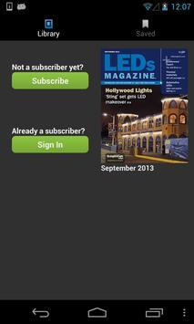 LEDs Magazine poster