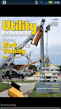 Utility Products Magazine poster