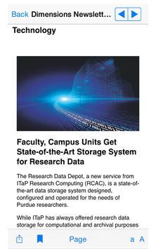 Research at Purdue apk screenshot