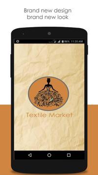 Textile Market poster