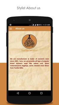 Textile Market screenshot 1