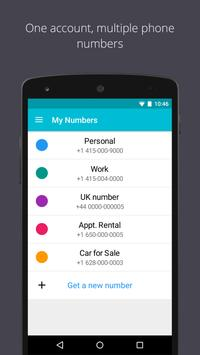TextMe Up Free Calling & Texts apk screenshot
