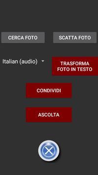 Text OCR Super Light Read Audio e Save MP3 2,7 MB apk screenshot