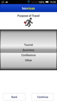 TexVisas screenshot 1