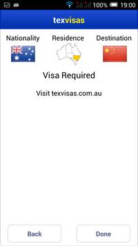 TexVisas screenshot 2