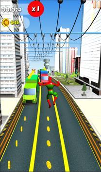 Subway Spider Swing apk screenshot