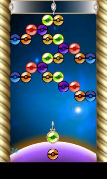 New Poki-mon Bubble Shooter screenshot 2