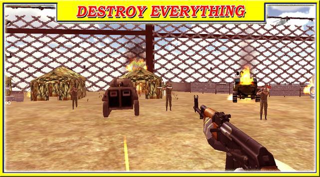 commando in frontline Battle apk screenshot