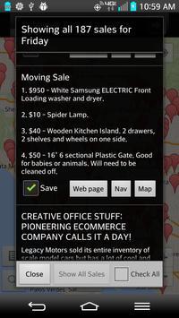 Garage Sales, Everywhere! apk screenshot