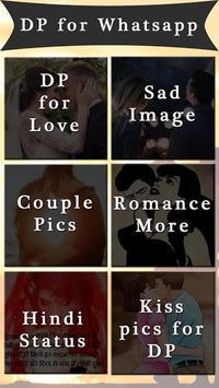 Romantic Shayari - Whatsapp Status & DP Maker poster