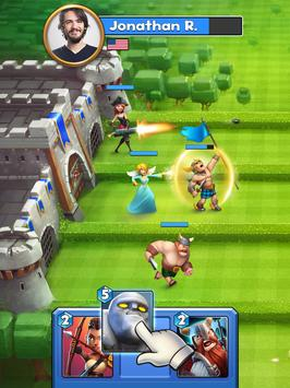 Castle Crush: Clash in a Free Strategy Card Games poster