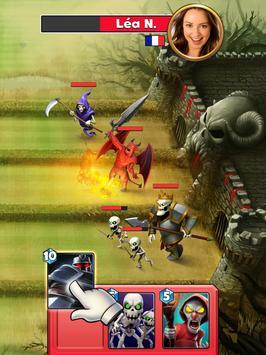 Castle Crush: Free Strategy Card Games apk screenshot