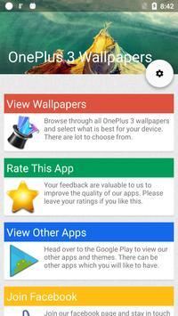 Stock OnePlus 3 Wallpapers (FHD) apk screenshot