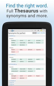 Dictionary apk screenshot