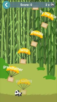 English Vocabulary Builder poster