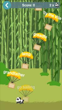 Learn English Vocabulary Game poster