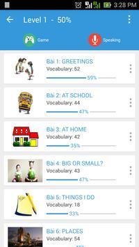 English Vocabulary Builder apk screenshot