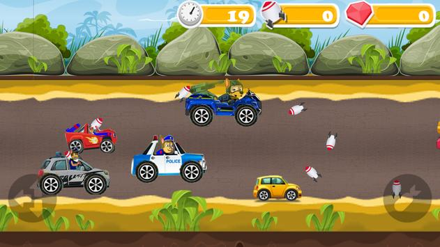 Police patrol on the road screenshot 1