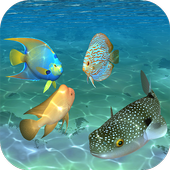 Ocean Fish Under Water Live Wallpaper icon
