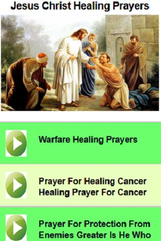 Jesus Christ Healing Prayers for Android - APK Download