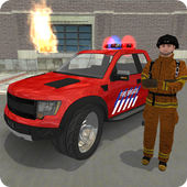 Mr. Parking: Fire Truck Cars icon