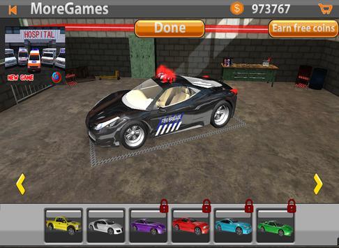 Mr. Parking: Fire Truck Cars screenshot 11