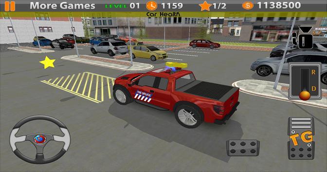 Mr. Parking: Fire Truck Cars screenshot 4