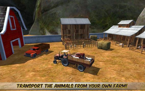 Off Road 4x4 Animal Transport poster