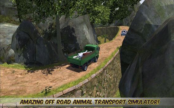 Off Road 4x4 Animal Transport apk screenshot