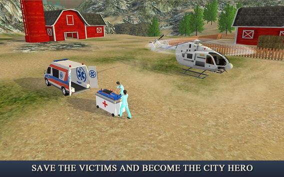 Ambulance & Helicopter Heroes apk screenshot