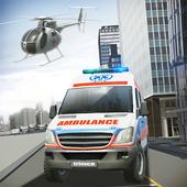 Ambulance & Helicopter SIM 2 icon
