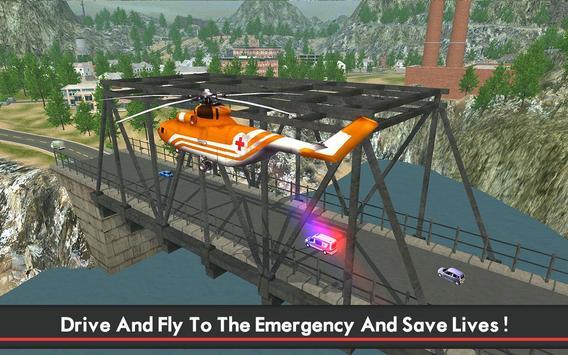 Ambulance & Helicopter SIM 2 screenshot 6