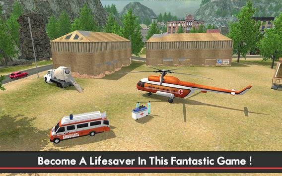 Ambulance & Helicopter SIM 2 poster