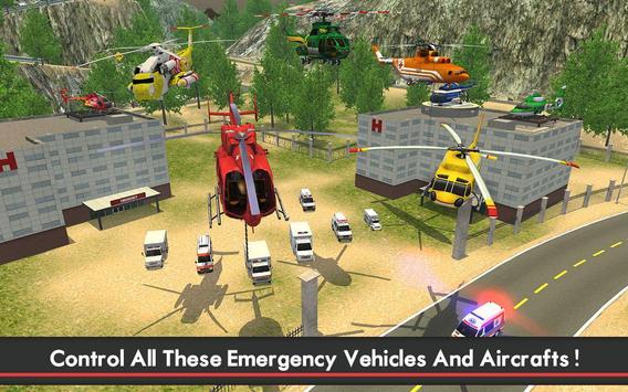Ambulance & Helicopter SIM 2 screenshot 10